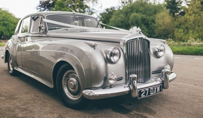 Beautiful Wedding Cars at The Bell of Skenfrith